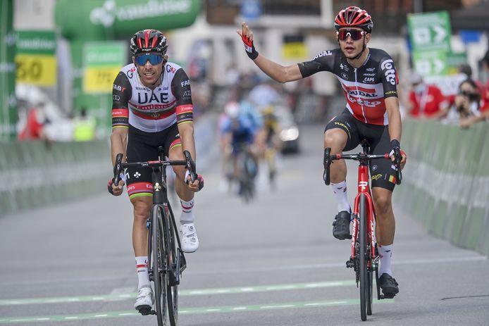 Battu au sprint par Rui Costa, Andreas Kron a finalement obtenu gain de cause.