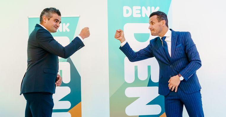 Tunahan Kuzu (L) en Farid Azarkan. Beeld Hollandse Hoogte /  ANP