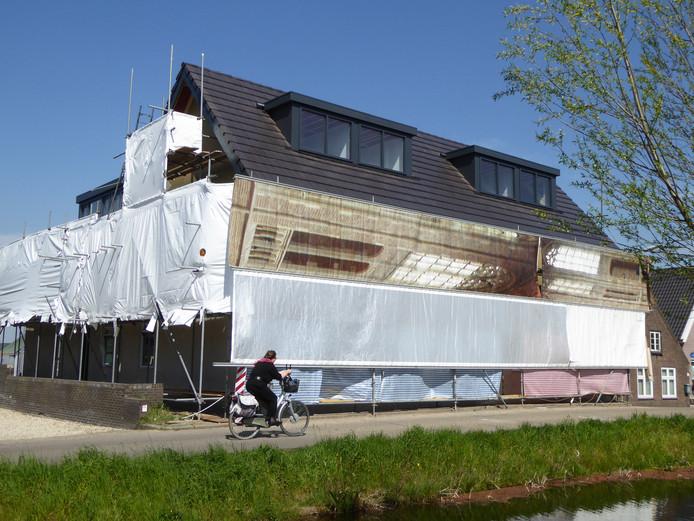 In het voormalig restaurant De Kwakel komen negen startersappartementen.