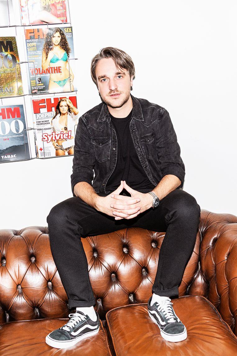 Chris Riemens: 'Slank is nog steeds het schoonheidsideaal, voor mannen en voor vrouwen.' Beeld Ruud Janssen