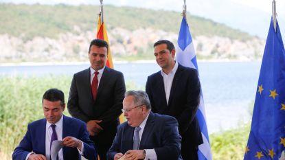 Historisch akkoord over nieuwe naam Macedonië getekend