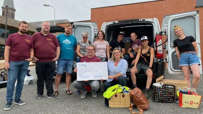 Vrijwilligers gaan koken voor 700 inwoners van getroffen dorpje Fraipont, maar treffen enkel lege straten aan