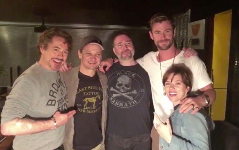 The Avengers zetten een tattoo