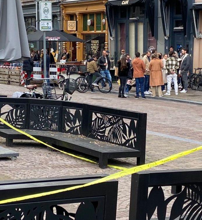 De Groenmarkt in Dordrecht.
