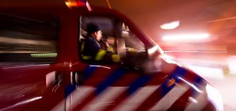 Hulpdiensten in actie voor mogelijke drenkeling in Maas