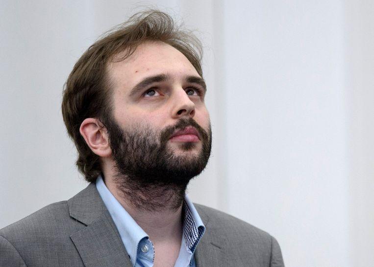 Kim De Gelder tijdens zijn assisenproces in maart 2013.