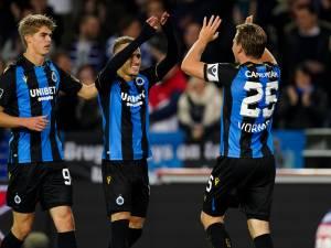 Le Club de Bruges reprend la tête du classement après sa victoire contre Courtrai
