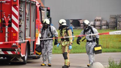Incident met giftige dampen in Ruiselede: trucker raakt bedwelmd