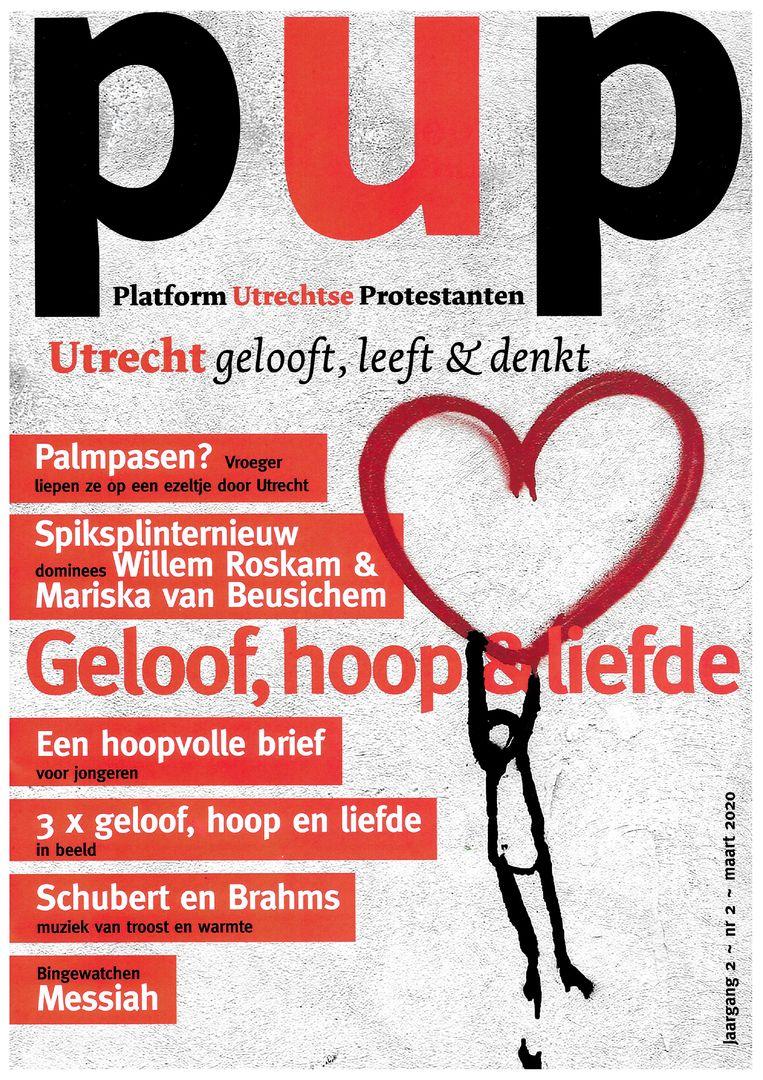 Omslag Platform Utrechtse Protestanten Beeld PUP
