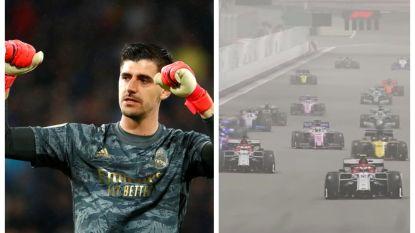 Thibaut Courtois 13de in virtuele Grand Prix F1 van Monaco, ook Aubameyang doet mee