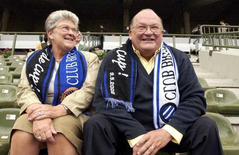 Club Brugge-supporter Jean-Luc Dehaene werkte als minister van Sociale Zaken in de nasleep van de Bellemans-affaire een voordelige regeling uit voor groepsverzekeringen voor topvoetballers.  Beeld BELGA