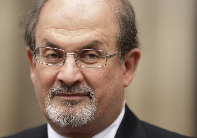 Salman Rushdie Beeld afp