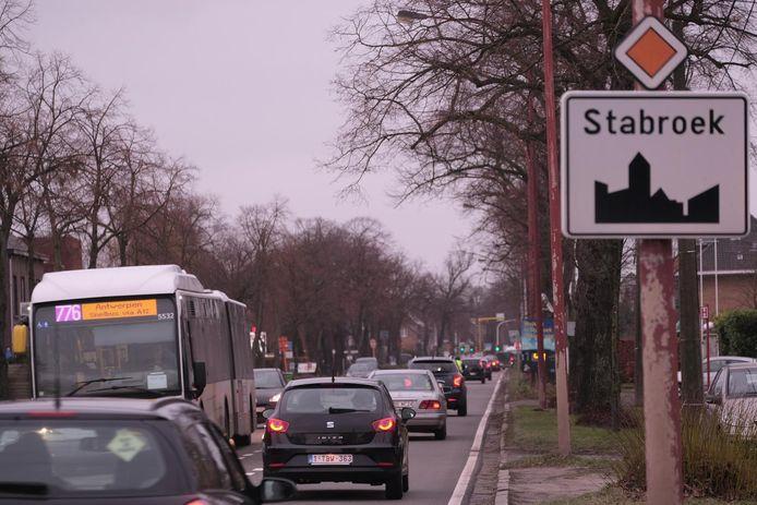 De 'NX' tussen Stabroek en het Antwerpse havengebied zal niet voor morgen zijn.