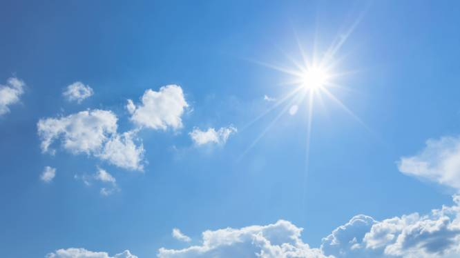 Daar is de zon! Eind volgende week klimt het kwik tot een zomerse 26 graden