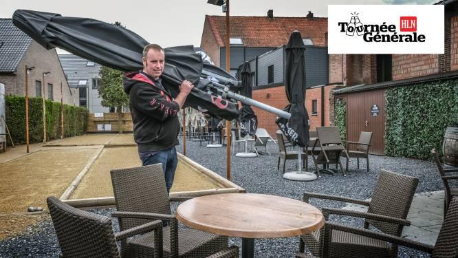 """David Vandeburie van café De Trukendoos is er klaar voor: """"We zetten maar 75 stoelen. 'Kerremesse' wordt het sowieso"""""""