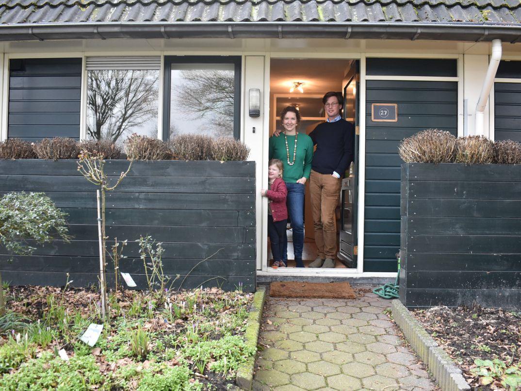 Matthijs & Annedien met dochter Emma
