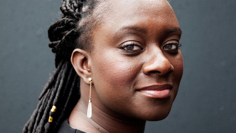 Anita Abaisa, oprichter van de groep Black Ladies Talk Beeld Ernst Coppejans