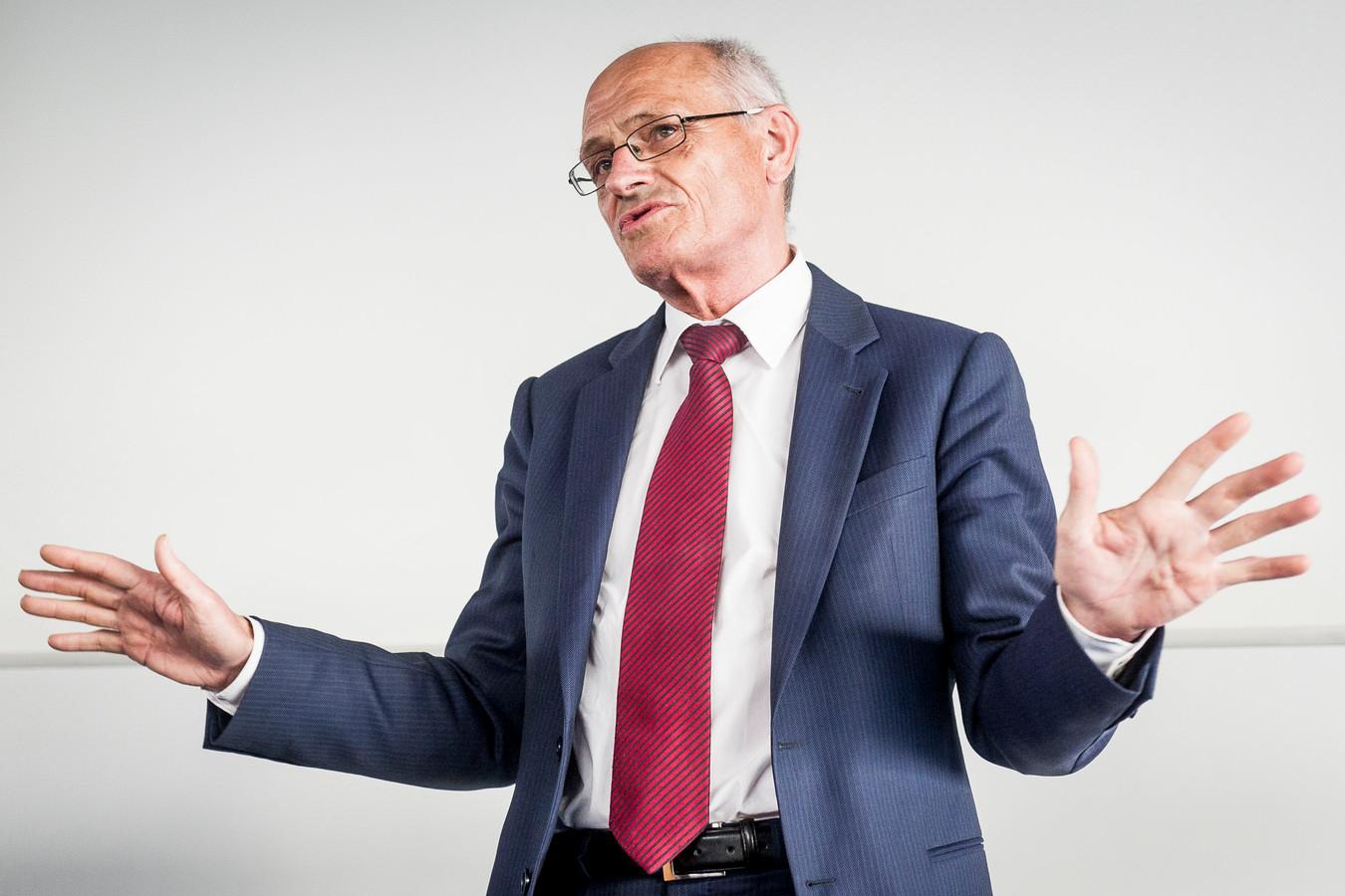 De Twentse ondernemer en multimiljonair Gerard Sanderink.