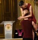 De Koninklijke Balletschool van Antwerpen gaf een negen minuten durend optreden, met een hoofdrol voor 'Girl'-acteur Victor Polster.