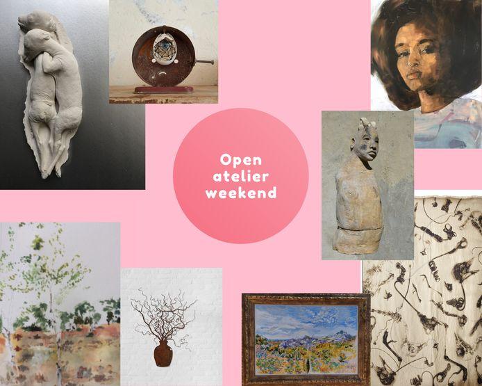 Op zaterdag 25 en zondag 26 september houden verschillende kunstenaars uit Berkel-Enschot, Haaren, Moergestel, Oisterwijk en Udenhout open atelier.