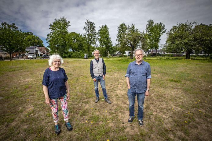 Hetty Toirkens, Ron Ensink en Henk Köiter.