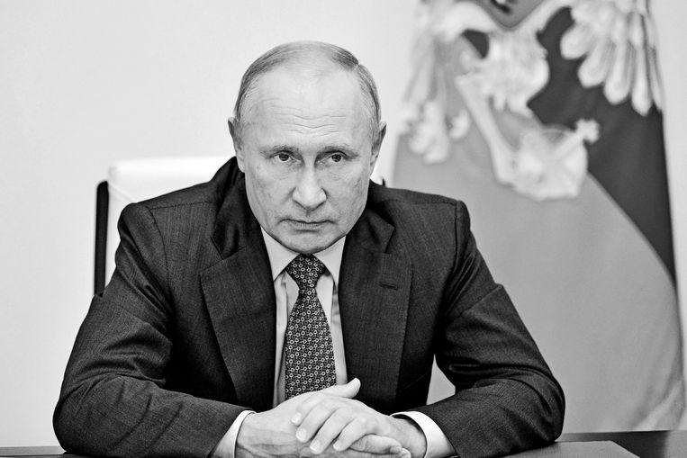 Russische president Vladimir Putin Beeld AFP