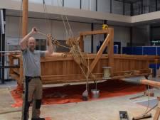 Tegenvaller bij nabouwen eeuwenoude zeilwagen
