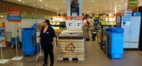 Storing treft ook Albert Heijn in Zwolle: 'Gelukkig doet de pin het wel'