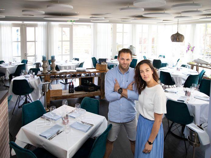 Julian Vlemmings en Manouk Sanders van restaurant Ratatouille in Heeze.