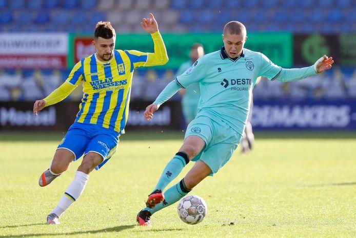 Vitalie Damascan zit voor het eerst sinds 12 februari weer bij de selectie.