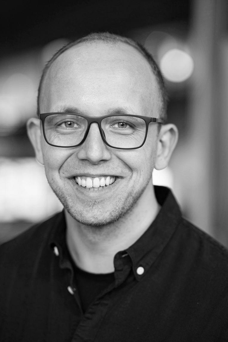 Eddie Brummelman, ontwikkelingspsycholoog aan de UvA en vicevoorzitter van de Amsterdam Young Academy. Auteur van Bewonder mij! Overleven in een narcistische wereld. Beeld Sander Nieuwenhuys