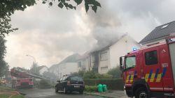 Twee woningen onbewoonbaar na uitslaande brand