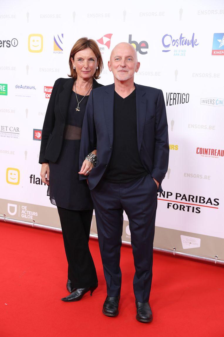 Dominique Deruddere en zijn partner.