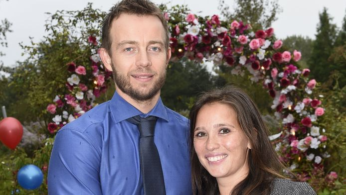 Henry Schut en zijn vriendin Merel.