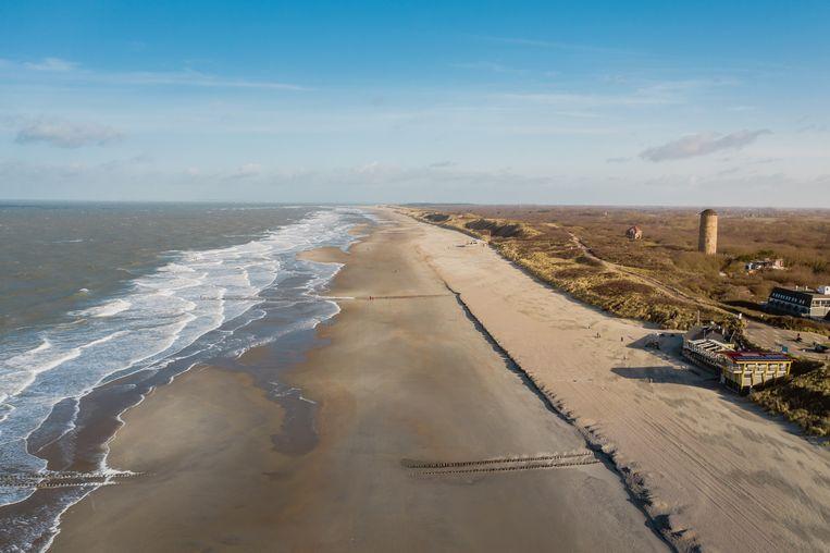 Strand bij Domburg (Zeeland). Beeld Shutterstock