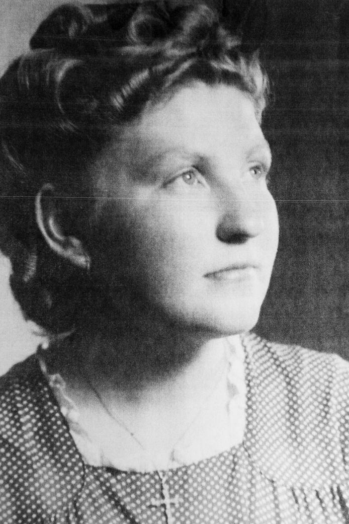 Maria Vandenbussche in haar jonge jaren