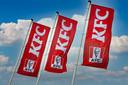 Vlaggen van KFC.