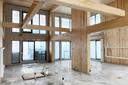 Dit flatgebouw BSH 20 (Stories) in Amsterdam wordt helemaal uit hout opgetrokken. De regio Amsterdam wil dat vanaf 2025 minimaal 20 procent van de nieuwbouwwoningen van hout zijn.