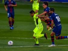 Suárez kan na droomstart Atlético niet langs Huesca helpen