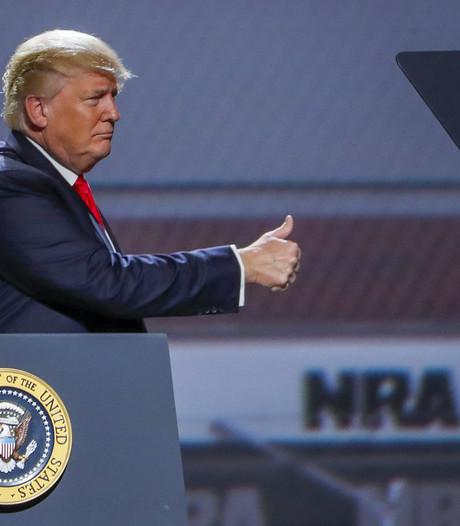 Trump tegen wapenlobby: 'Jullie hebben een vriend in het Witte Huis'
