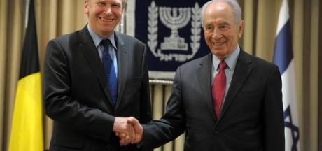 Shimon Peres intéressé par la situation politique en Belgique