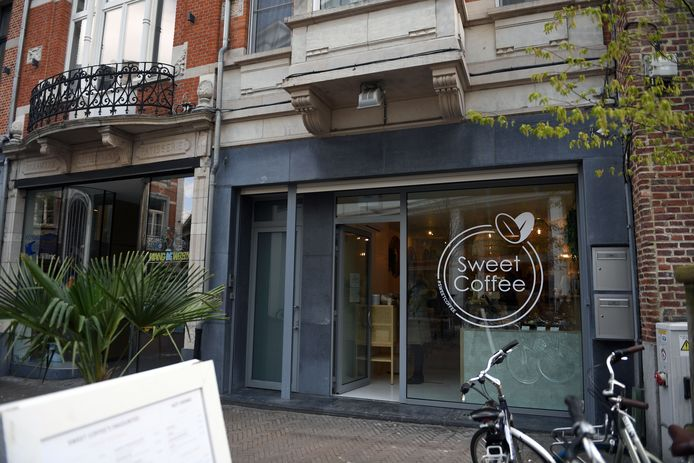 Sweet Coffee, nieuwe zaak in de Tiensestraat in Leuven.