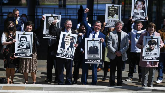Britse premier Johnson verontschuldigt zich voor geweld in Noord-Ierland in 1971