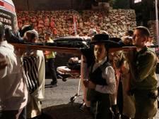 Minstens 150 gewonden bij ongeluk in overvolle synagoge op Westelijke Jordaanoever