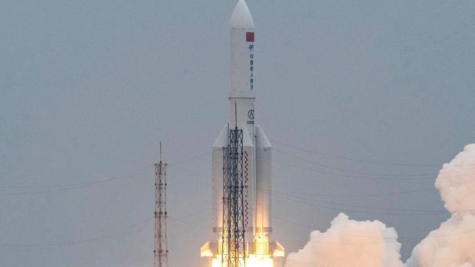 Chinese raketresten neergekomen in Indische Oceaan