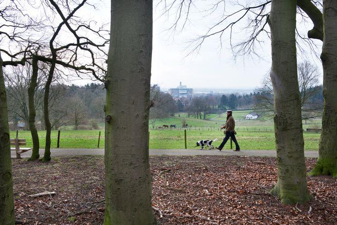 Park Klarenbeek in Arnhem, met uitzicht over de stad.