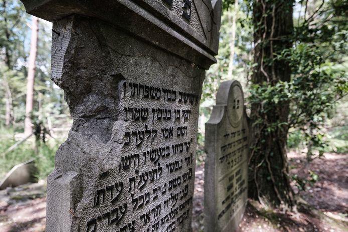 De joodse begraafplaats in 's-Heerenberg.
