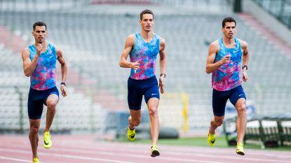 Vier broers Borlée lopen in San Diego voor het eerst samen de 4x400 meter