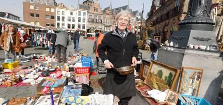 Prullaria voor een habbekrats: de oudste markt van Nijmegen is terug