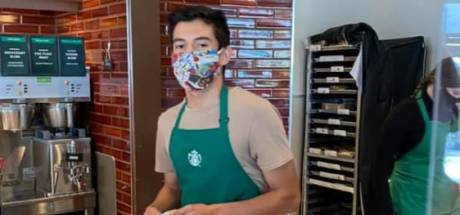 Barista bedient klant zonder masker niet: zij nagelt hem aan schandpaal en hij krijgt 'fooi' van 87.000 euro